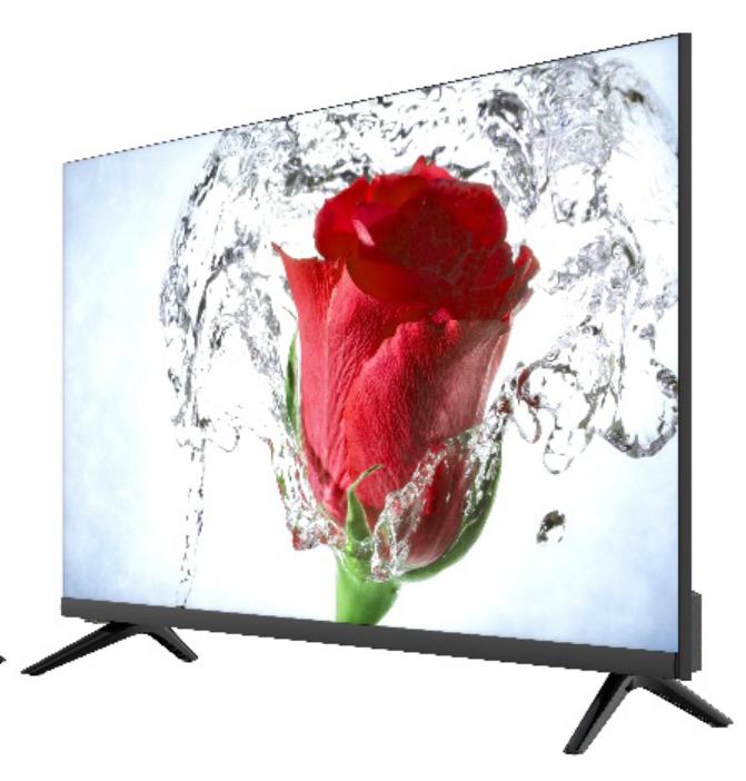Телевизор Smart TV COV UA 400 QR (Android 6.0) 102см черный - фото 1