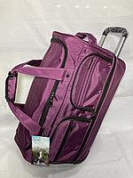 Дорожная сумка на колесах. Высота 35 см, ширина 56 см, глубина 29 см., фото 1