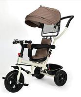 Велосипед трехколесный Tomix Baby Trike, бежевый