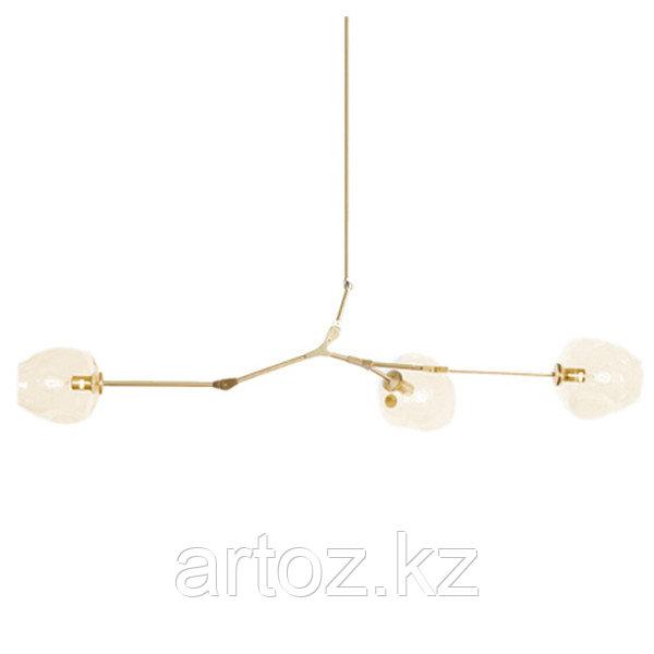 Светильник подвесной Branching Bubble Chandelier - 3 Light (gold)