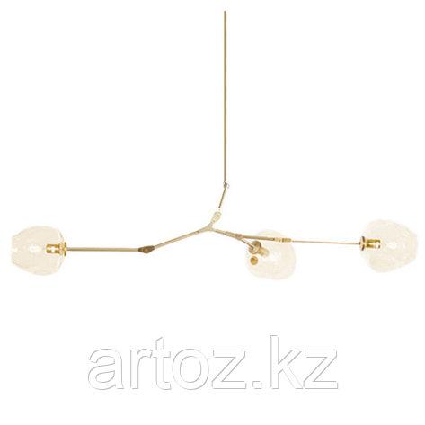 Светильник подвесной Branching Bubble Chandelier - 3 Light (gold), фото 2