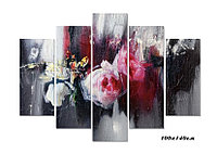 """Картина """" цветы абстракция"""""""
