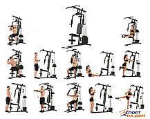 Атлетическая фитнес станция YT-7000D, фото 3