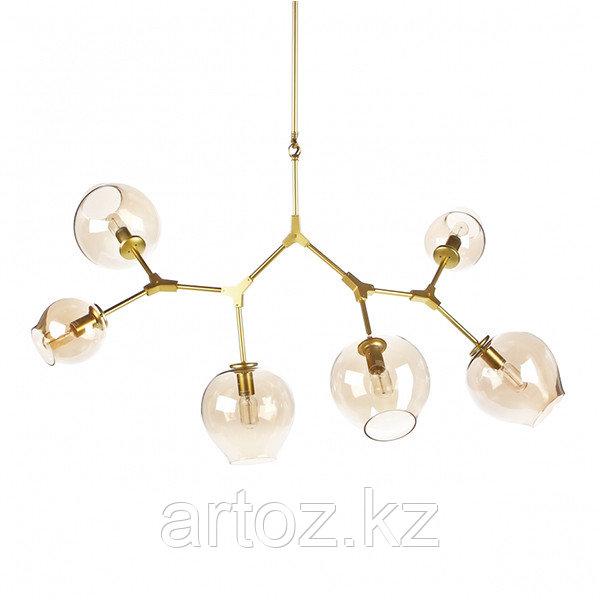 Светильник подвесной Branching Bubble Chandelier - 6 Light (gold)