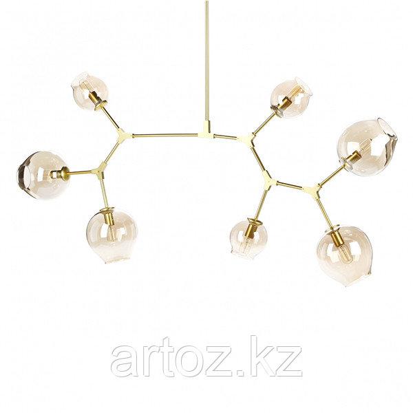 Светильник подвесной Branching Bubble Chandelier - 7 Light (gold)