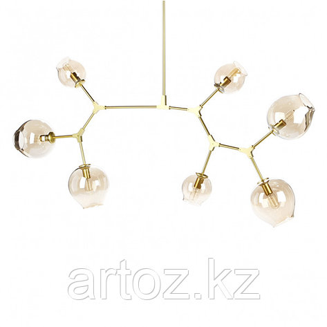 Светильник подвесной Branching Bubble Chandelier - 7 Light (gold), фото 2