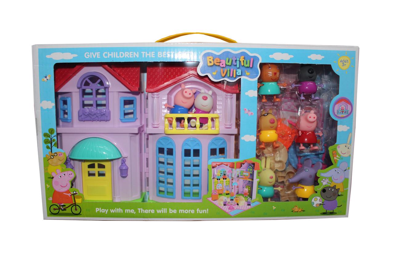 Дом свинка пепа РР612