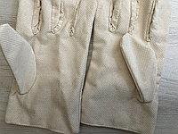 Перчатки рабочие с пвх точкой не скользящие из плотной ткани