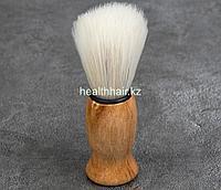 Помазок для бритья, деревянный