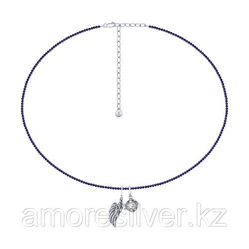 Колье SOKOLOV серебро с родием 8510700007 размеры - 50