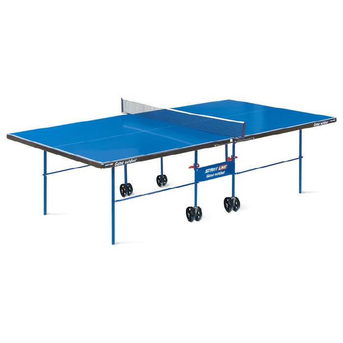 Стол теннисный Start line Game Outdoor-2, всепогодный