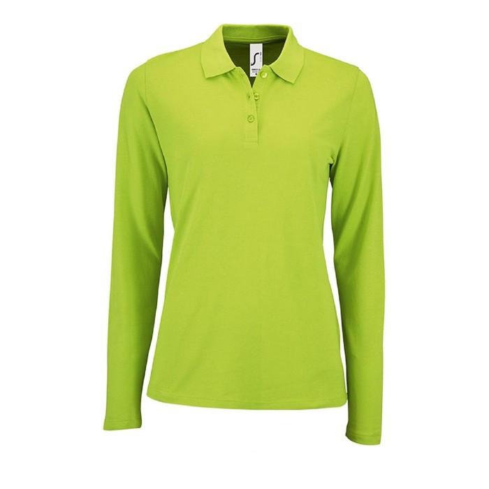Рубашка поло женская с длинным рукавом PERFECT LSL WOMEN, размер XXL