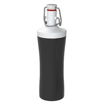 Бутылка для воды Plopp to go 425 мл, чёрная
