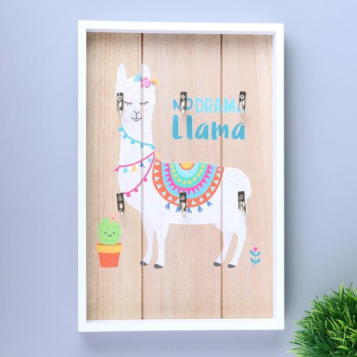 """Крючки декоративные дерево """"Лама"""" 30х20,2х3 см"""