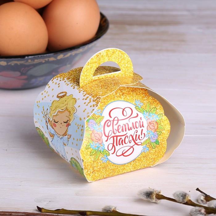 Коробочка подарочная для яйца «Ангелок», 25 × 30 см