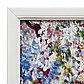 "Модульная картина ""Лебеди в пруду"" 20х35-2шт, 29х49-1шт, 50х70 см, фото 2"