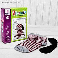 Набор для создания игрушки из носков «Щенок» + игла, инструкция