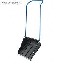 Движок пластиковый «Сибиртех», размер ковша 43 × 60 см, металлическая планка