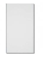 Облицовочная ПВХ панель VOX Эколайн 250х3000 мм 0,75 м2  (белый глянцевый)