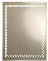Зеркало Континент Прованс люкс 920х680х35