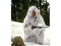Костюм Rothco BUSHRAG Ultralight Ghillie Jacket & Pant Set - Snow