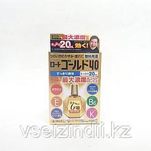 Глазные капли мягкого воздействия Gold 40 золотые,Rohto 20 мл свежесть 4