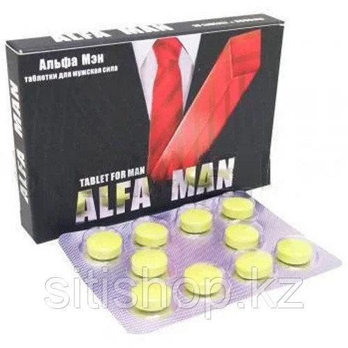 Таблетки Alfa Man
