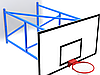 Ферма баскетбольная настенная с выносом 2м, фото 3