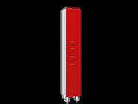 Пенал напольный Water World,Рубин 300, 500х300х700 (Рубин, Красный глянец)(4603745550999)