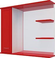 Шкаф навесной Water World 100*70*17, 1000, (Рубин, Красный глянец)(4603745565061)