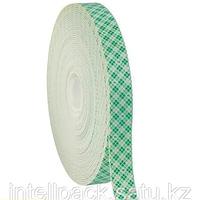 Клейкая двусторонняя полиуретан белая 19мм*5м (скотч)