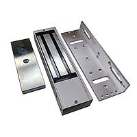 Электромагнитный замок в комплекте с уголком с силой удержания до 500 кг.