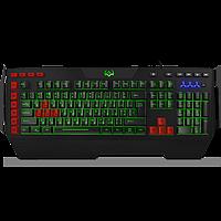 SVEN KB-G9600 Клавиатура игровая проводная мультимедийная с подсветкой, цвет черный