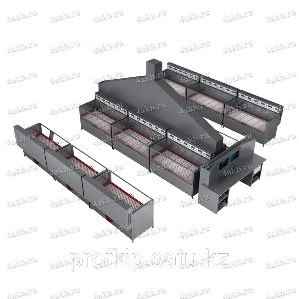 Программируемый зарядно-разрядный комплекс для заряда автомобильных аккумуляторов КРОН-ПЗРК-72А