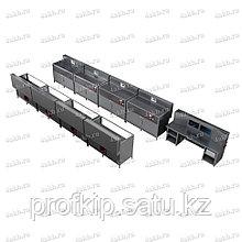 Программируемый зарядно-разрядный комплекс для заряда тяговых аккумуляторов КРОН-ПЗРК-8Т
