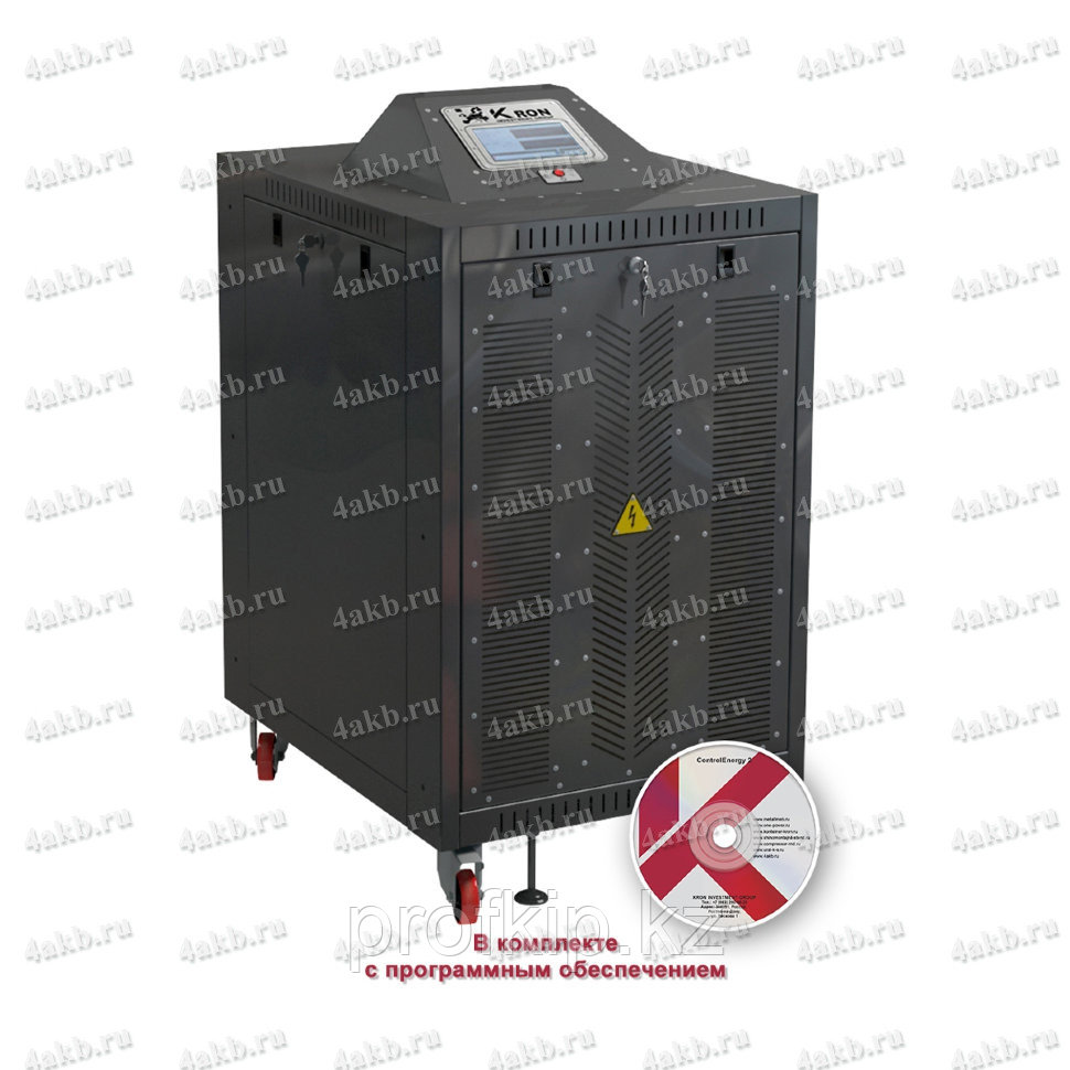 Автоматический зарядно-разрядный выпрямитель с рекуперацией энергии серии ВЗА-Р-Р