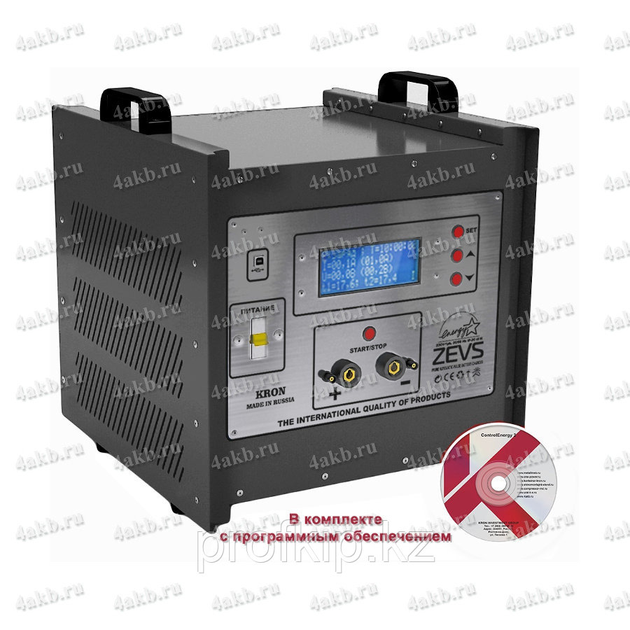 Разрядное устройство с функцией теплового разряда аккумуляторов серии КРОН-УР-48