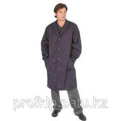 Халат рабочий мужской кислотостойкий, на пуговицах, два кармана.