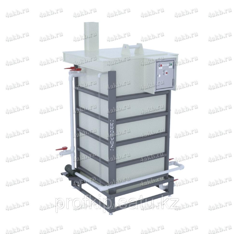 Установка для приготовления и дозирования кислотного электролита УДЭ-02К