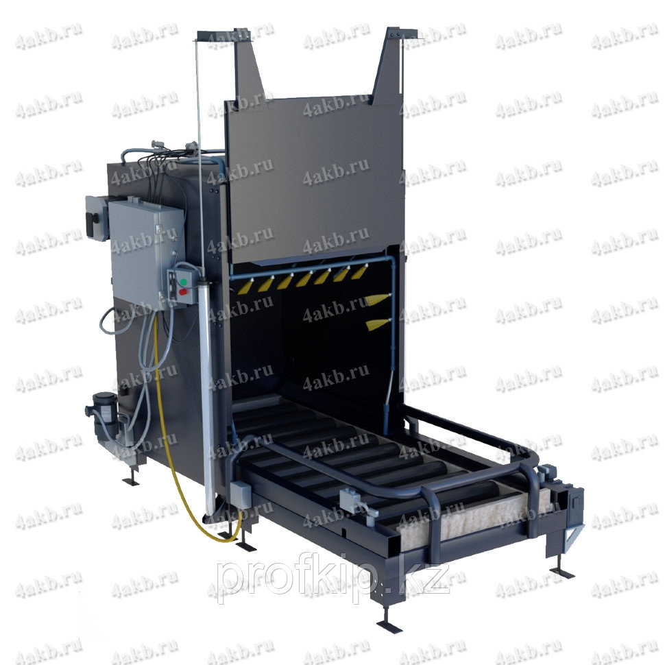 Шкаф для автоматической мойки батарей