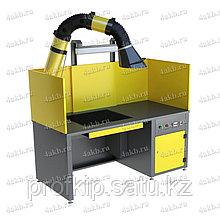 Стол сварщика СС-02-07 с вытяжным устройством