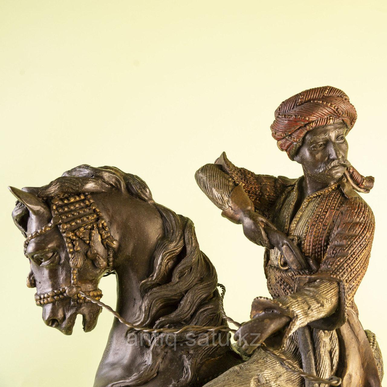 Кабинетная скульптура «Восточный воин» - фото 3
