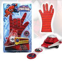 Игровой набор Человек паук Spider man с бластером и перчаткой WL11187A