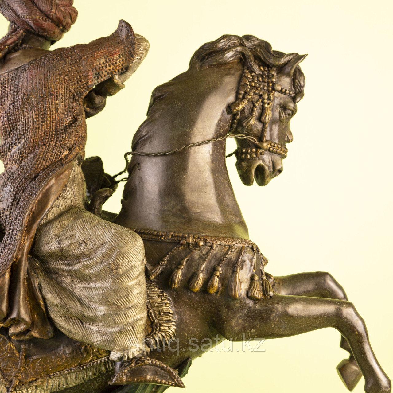 Кабинетная скульптура «Восточный воин» - фото 5