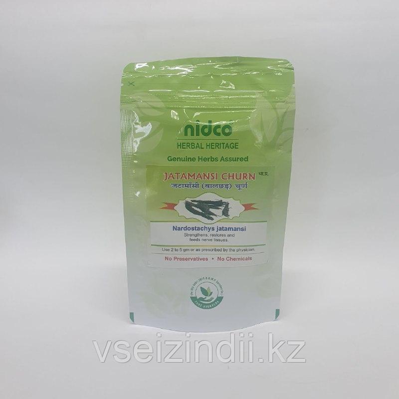 Джатаманси порошок Nidco (Jatamansi churna), 25 гр., очищение кожи, нервная система, головной мозг