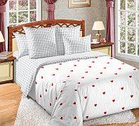 ТексДизайн Комплект постельного белья  Симпатия  2 спальный евро, перкаль