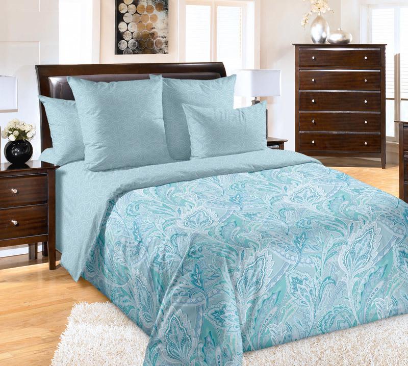 ТексДизайн Комплект постельного белья  Ясмин  2 спальный евро, перкаль
