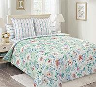 ТексДизайн Комплект постельного белья  Белая роза  2 спальный евро, перкаль