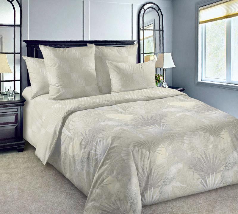 ТексДизайн Комплект постельного белья Жако ,   2 спальный евро, перкаль