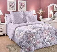 ТексДизайн Комплект постельного белья Лотосы ,   2 спальный евро, перкаль